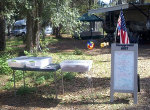 HRSP Campground Host Display