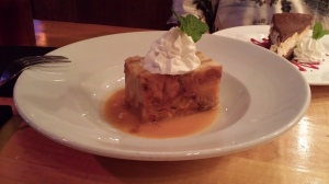 Banana Bread Pudding with Bourbon Sauce
