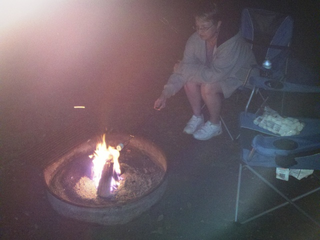 1st marshmallow roast
